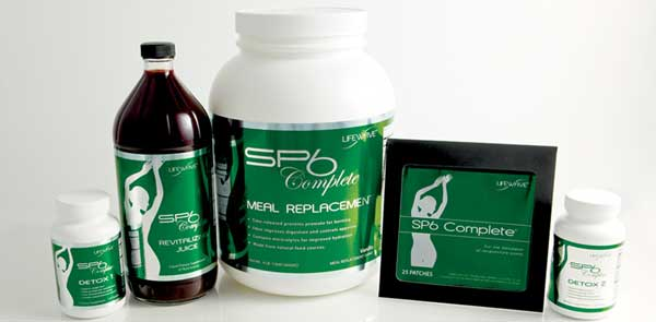 The SP6 Complete system is a family of LifeWave product made of SP6 patches for appetite control, Maqui Juice Cocktail for weight loss, Detox 1 and Detox 2 for detoxification and Meal Replacement for a complete nutrition during the weight loss program.